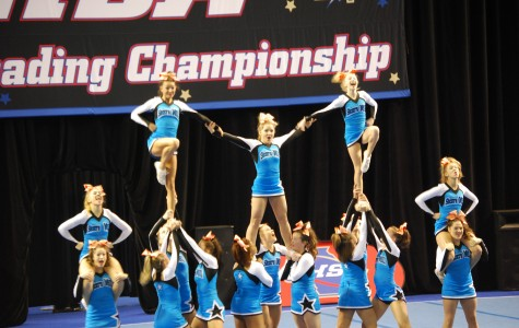Cheerleaders take third at state competition