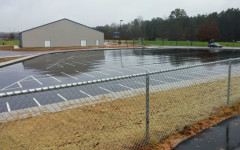 Wishes granted: Golf cart parking lot almost ready