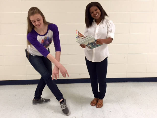 Juniors Anna Hall and Maria Curry will attend the Governor's Honors Program this summer. Hall (left) will study dance and Curry will go for Social Studies.