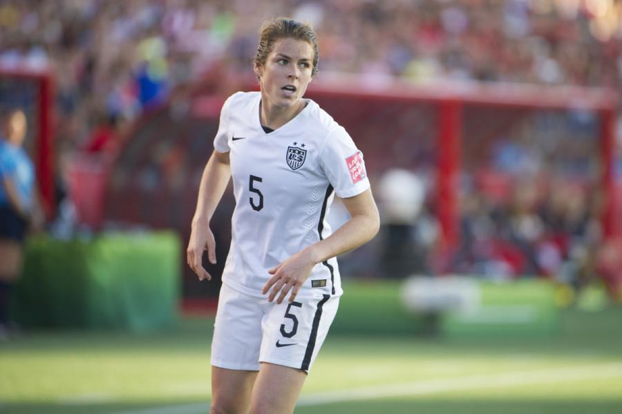 Former Panther graduate Kelley O'Hara scored her first international goal for the United States women's national team on June 30, 2015 against Germany in the semi-finals of the World Cup. The goal sealed the trip back to the finals, where the team would win 5-2 over Japan.
