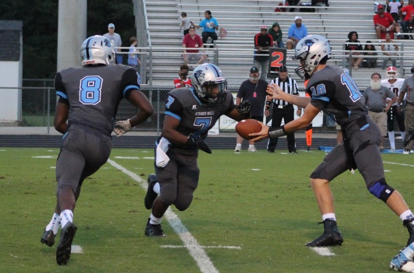 The Panthers rushing attack drove the offense down the field, with sophomore running back Rico Frye leading the way. He ran for 201 yards and two touchdowns on 22 carries.