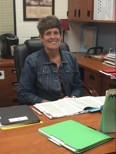 Assistant Principal Deb Troutman