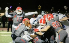 Nov. 20, 2015 - Allatoona defenders swarm a Starr's Mill running back.  Despite having more offensive yards than the Buccaneers, the Panthers ended their season with a 30-14 loss in the second round of the state playoffs.