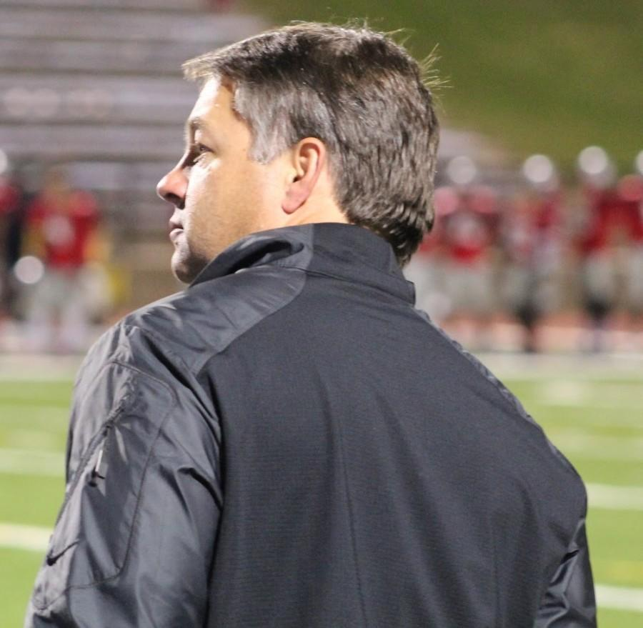 Football head coach Chad Phillips has compiled a 42-27 record in six seasons since becoming the head coach of the Panthers, taking the team to state playoffs three times. He won the award for Fayette County Coach of the Year after leading this year's team to a 10-2 record and a trip to the quarterfinals of state playoffs.
