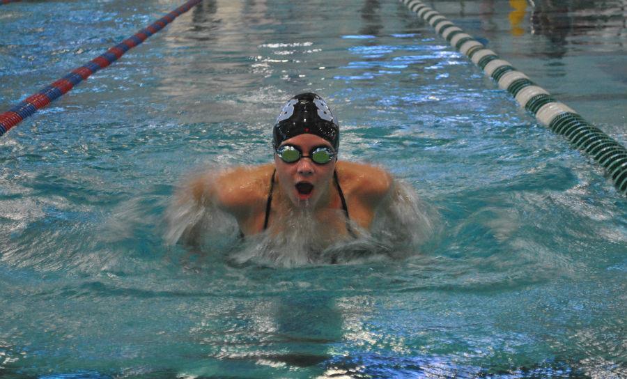 The Panther swim team dove into their 2015-16 season on Nov. 6 at the Columbus Blue Devil Invitational.