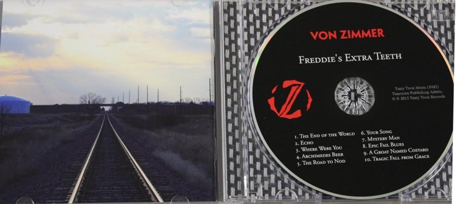 Von Zimmer's first album,