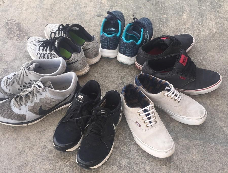 The Friday Night Lights #givebackmeet will include a shoe drive organized by coach Chad Walker to help shoes for homeless people in Atlanta. The track and field team's goal is to gather at least 1,000 pairs of shoes.