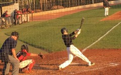 March 7, 2016 - Junior Kyle Evert takes a swing during an at-bat against Dutchtown. The Panther varsity baseball team allowed only one hit in their 3-0 win against the Bulldogs.