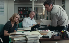 Journalists Sacha Pfeiffer (Rachel McAdams), Walter Robinson (Michael Keaton), and Mike Rezendes (Mark Ruffalo) collaborate together to prepare a newspaper article that will expose abuse in the Catholic Church. Despite the reality of the events in the film and the importance of its message, many moviegoers question if it was worthy of the Academy Award for Best Picture.