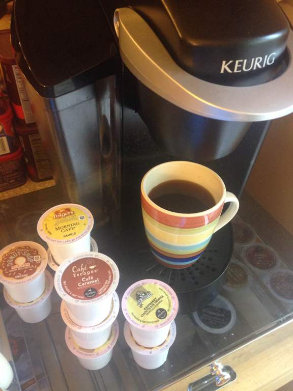 Keurigs are just one of the many ways coffee drinkers can get their hands on a cup of joe. Popular alternatives to home brews include going to local coffee shops, Dunkin Donuts, Starbucks and Chick-fil-A. Coffee is packed with disease-fighting qualities and protects the body against heart disease, melanoma and certain types of cancer if consumed on a daily basis.