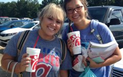 Starr's Mill students, faculty acknowledge Chick-fil-A craze