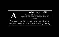 """Rated: """"A"""" for Arbitrary"""