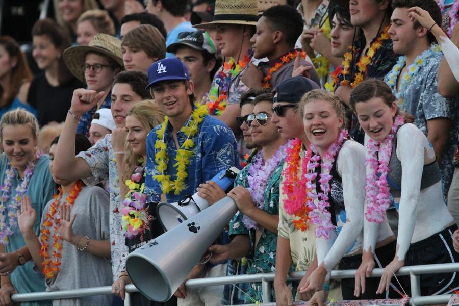 The class of 2017 is keeping up appearances by continuing the Mill's various senior traditions, such as painting up at football games and dressing up for themed days.