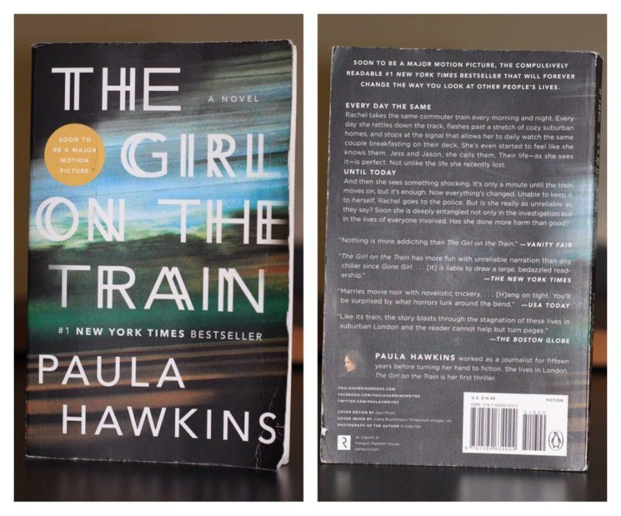 Rachel+Watson%2C+a+jobless%2C+alcoholic%2C+becomes+involved+in+the+mystery+of+a+missing+woman+she+saw+almost+everyday+while+riding+the+train.+This+book%2C+written+by+Paula+Hawkins%2C+is+commonly+compared+to+the+New+York+times+bestseller+%C2%A8Gone+Girl%C2%A8+by+Gillian+Flynn.+