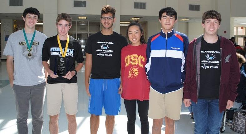 The Mill's varsity Math Team took home a first place win at the Luella Mathematics Competition last weekend. In addition, three members received individual overall placement medals.