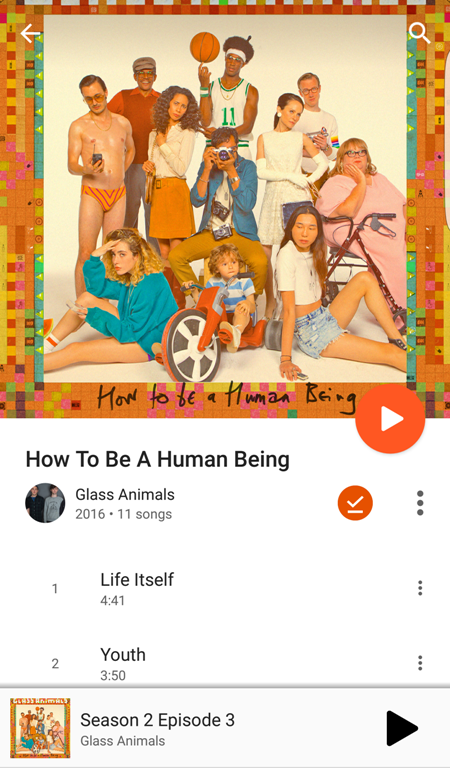 Glass Animals How To Be A Human Being Listen