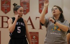 Varsity girls return to the court with fresh faces