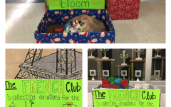French club plants donation seeds for foster children