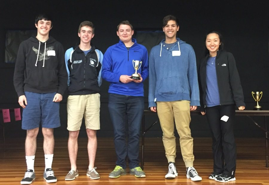 The Starr's Mill varsity Math Team placed second at Griffin RESA, only losing to McIntosh High School.