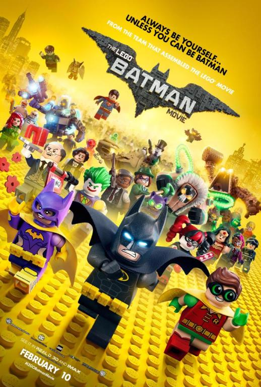 """""""The Lego Batman Movie,"""" released Feb. 7, explores the lives of well-known superheroes and villains as Legos. This new film, while incredibly humorous, also teaches numerous life lessons."""