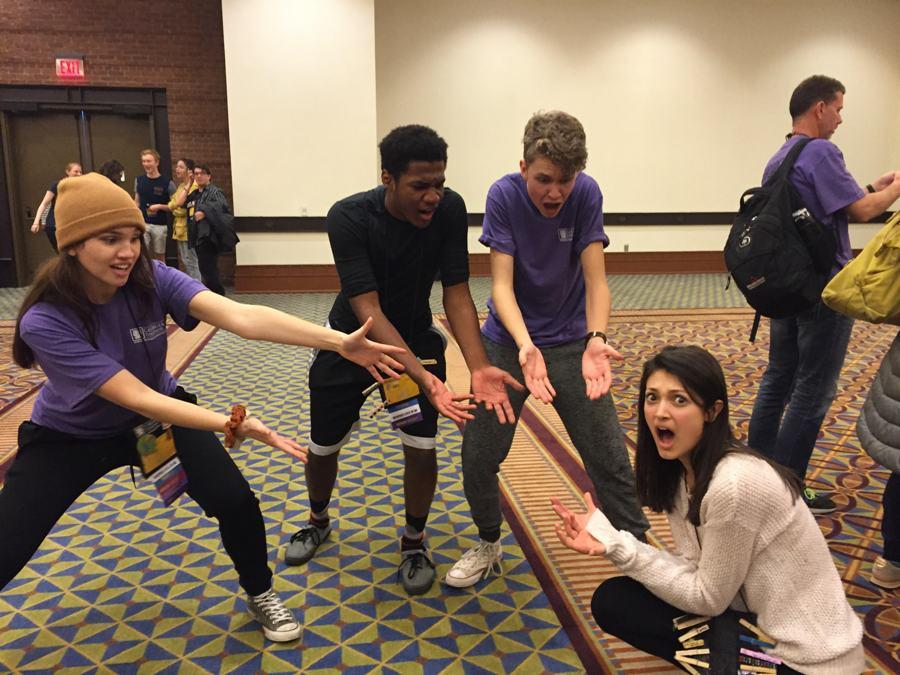 At the 2017 Georgia Thespian Conference, students had the opportunity to explore a variety of workshops. Some took part in competitions, such as the Improvisation Competition.