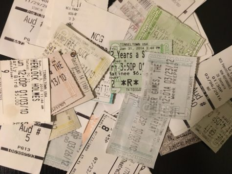 A array of past movie tickets. It seems the general public is always collecting stubs from big-budget blockbusters, but why not give some indie flicks a shot?