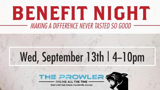 Your Pie will be hosting a fundraiser for The Prowler. The event will feature food, hanging out with friends, and a raffle.