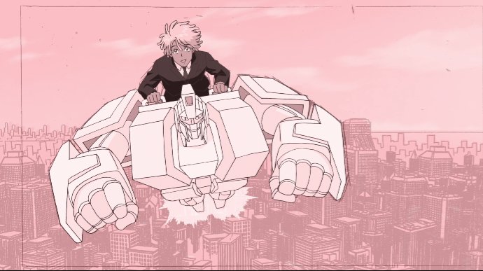 Neo+Yokio%E2%80%99s+most+eligible+bachelor+and+demon-slayer+Kaz+Kaan+%28Jaden+Smith%29+takes+a+ride+through+the+city+on+his+mecha-butler%2C+Charles+%28Jude+Law%29.+Despite+coming+in+a+neat+package%2C+%E2%80%9CNeo+Yokio%E2%80%9D+lacks+the+substance+to+make+a+strong+first+impression.+