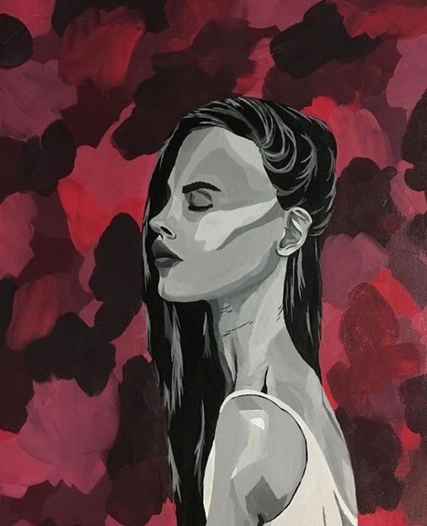 Student artist paints up profits