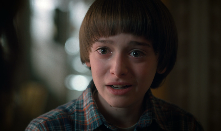 Will+Byers+%28Noah+Schnapp%29+struggles+to+deal+with+one+of+his+episodes+after+returning+to+Hawkins.+Schnapp%E2%80%99s+performance+carried+the+newest+season+and+surpassed+expectations.