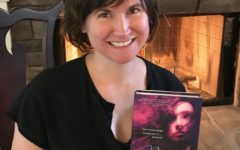 Local writer Romily Bernard holds her newest novel