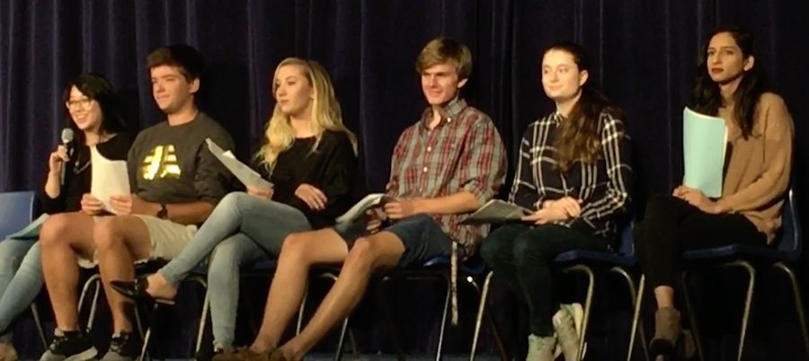 "A student panel leads an interactive discussion along with the viewing of the documentary ""Screenagers."" This documentary features the wide-spread use of technology and the impact it is having on today's youth."