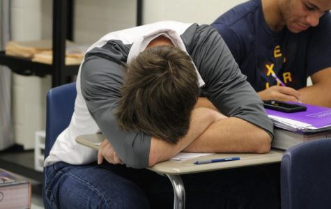 Sleep and exercise battle for students' time