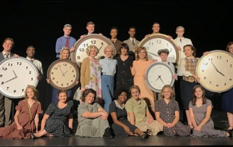 Advanced Drama II class shines at state competition