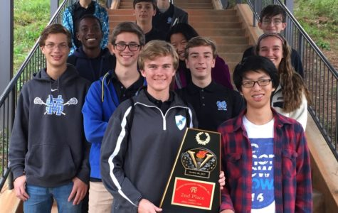 Varsity Math Team finishes top 3 at competition