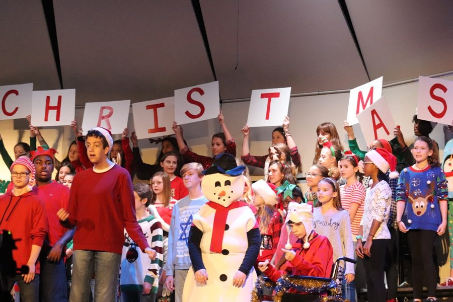 The+Starr%E2%80%99s+Mill+CBVI+class%2C+the+sixth+grade+women%E2%80%99s+chorus%2C+and+the+Men+of+the+Mill+performed+their+music+show+on+Dec.+8.+It+was+a+sing-along+show%2C+composed+of+songs+that+the+students+picked+out.