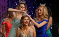 "Miss Starr's Mill 2017 Maddie Hammond and Miss Starr's Mill's Outstanding Teen 2017 Cara Clements crown Miss Starr's Mill 2018 Alayna Burdekin. ""I'm really excited to represent the school and see what this year has to offer,"" Burdekin said."