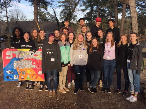 The German students had a another year of success at the German Convention which took place on Feb. 2-3. Out of the 21 students that went, 18 of them placed, putting the Starr's Mill group in fourth place overall.