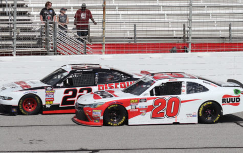 Xfinity Series rookie Christopher Bell battled against MENCS veteran drivers throughout the day. The driver of the No. 20 Ruud Toyota from Joe Gibbs Racing finished third behind runner-up Joey Logano in the No. 22 Discount Tire Ford after Kevin Harvick dominated the race.