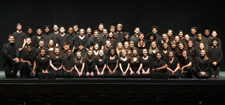 The+Thespian+Society+took+their+annual+trip+to+ThesCon+last+week+and+found+great+success.+The+group+earned+several+honors+and+gained+helpful+acting+skills.+