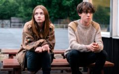 "Main characters James (Alex Lawther) and Alyssa (Jessica Barden) wait outside of a restaurant after blackmailing their ride and and inadvertently becoming stranded in the process. The hit series ""The End of the F***ing World,"" based on the comic book by Charles Forsman, may have a second season in the works that would premiere sometime in 2018 or early 2019."