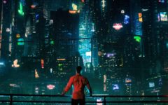 "Takeshi Kovacs takes in the sight of Bay City, where he finds himself brought back to life 250 years after dying. Netflix's science fiction series ""Altered Carbon"" presents a fantastic world where the human mind can be transferred from body to body with ease."