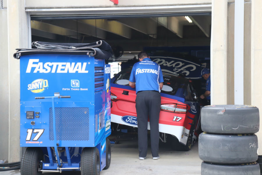 Ricky+Stenhouse+Jr.+topped+the+speed+charts+in+the+first+MENCS+practice+at+Atlanta+Motor+Speedway.