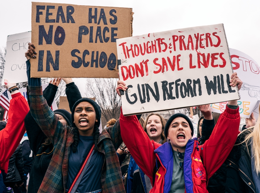 Many victims and survivors from the recent Parkland shooting have stood up and demanded that lawmakers do something about gun control. The government must begin working on limiting guns to civilians instead of continuing to arm and militarize this society.