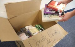 Student collaboration benefits Books for Africa