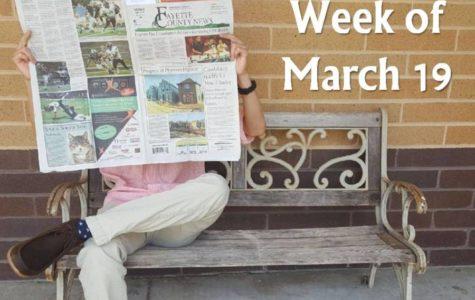 Headlines for the start of spring
