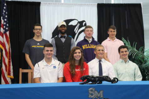Spring athletics signings – April 18-19, 2018