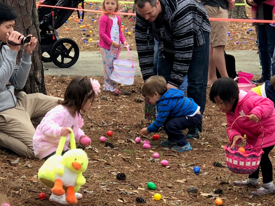 The Octagon Club hosted their annual Easter egg hunt on March 24. Every year the event is held to give back to the community and raise awareness about the club.