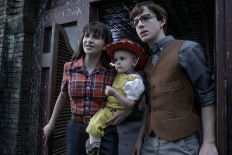 "The Baudelaire children— Violet, Klaus, and Sunny— in the episode ""The Vile Village."" Despite some questionable decisions by the writers, the series is best when it focuses on what viewers care most about: the dire straits of the Baudelaires and capturing the tone of the beloved books."