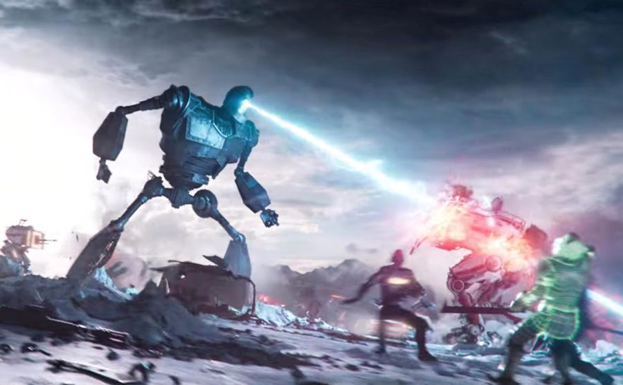 "In the virtual world of the OASIS, anything is possible, including an epic throwdown between the Iron Giant and an army of evil robots. Sadly, despite the limitless possibilities in the OASIS, it wasn't possible for the ""Ready Player One"" movie to live up to its hype."